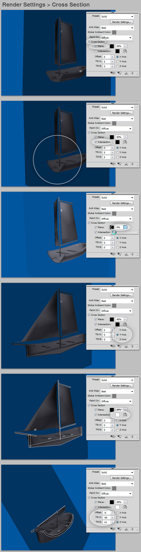 3D-инструменты Photoshop CS4
